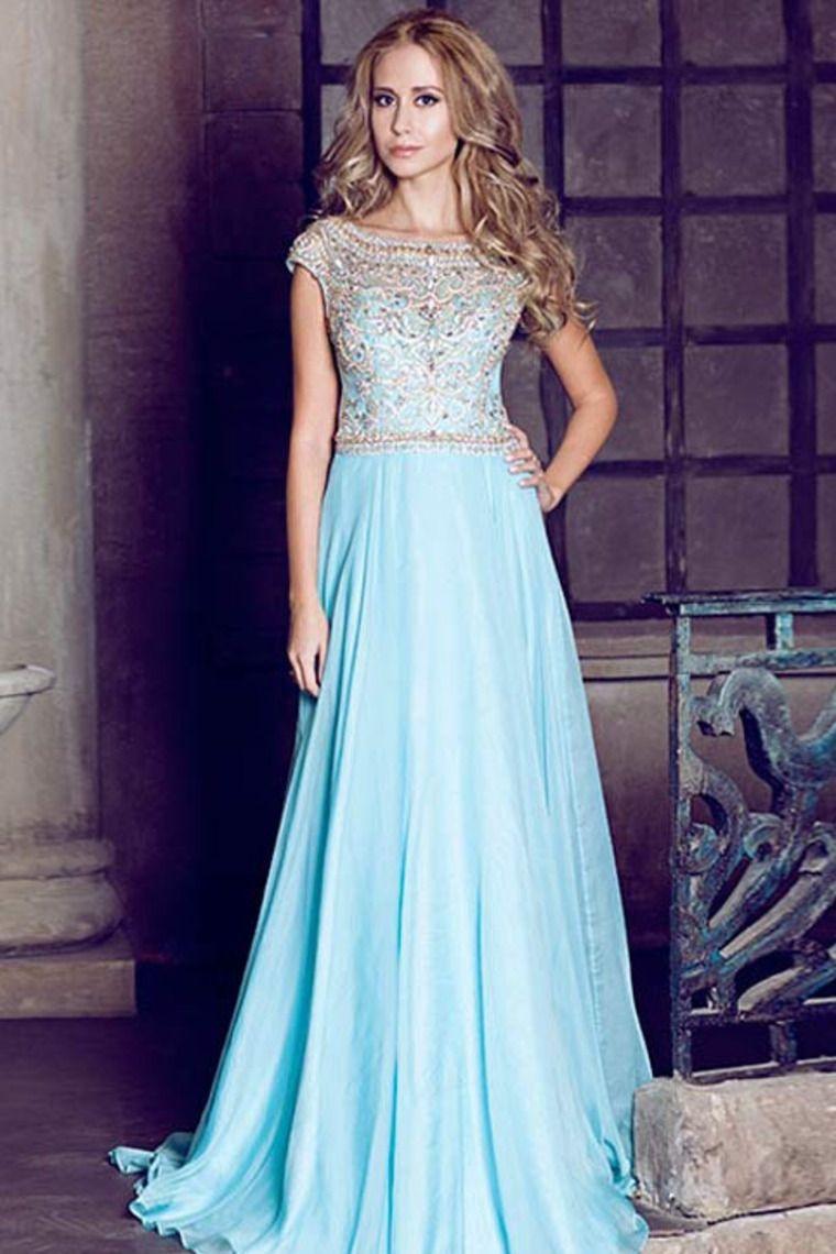 Light Blue Prom Dresses 2014