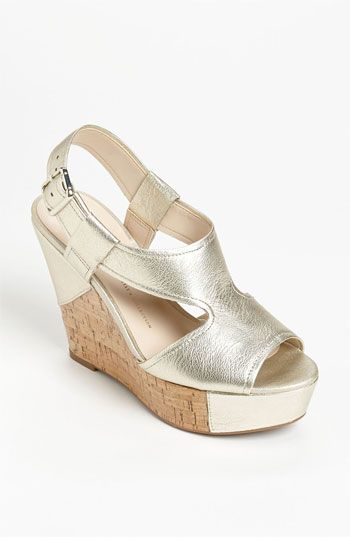 <3 ...and <3 the fact that they're on sale even more. ~ Franco Sarto 'Xenon' Wedge Sandal (Special Purchase) | Nordstrom