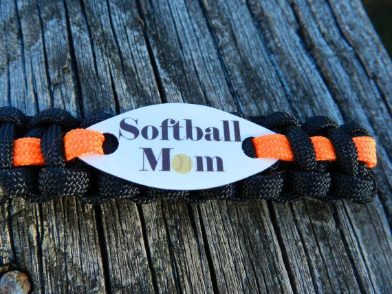 Softball Mom key fob  Mothers Day Gift by CJWPARACORD on Etsy