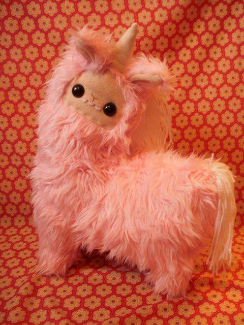 19a0163a019 Unicorn stuffed animal I am llama