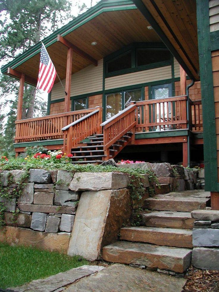 front yard steps idea | Green Thumb Garden & Ideas | Pinterest ...
