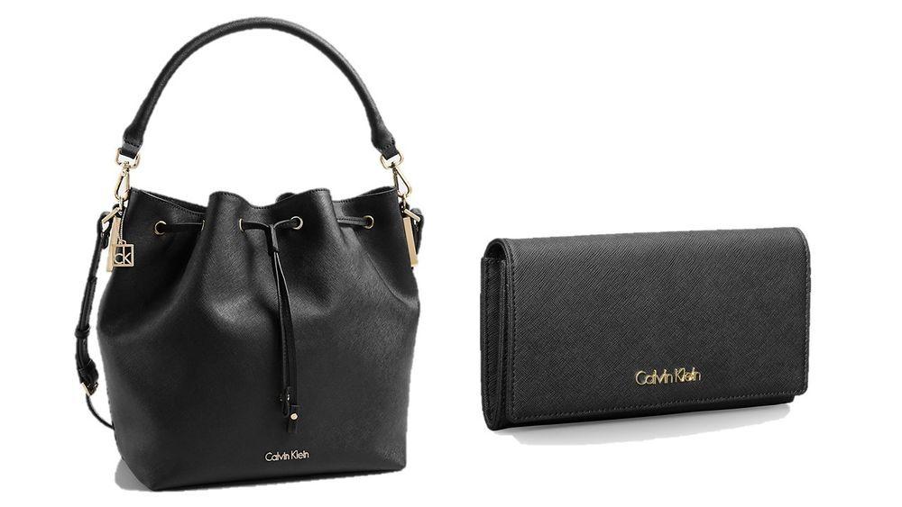 Convertible Calvin Drawstring Klein Bucket Bag Scarlett With TKJculF13