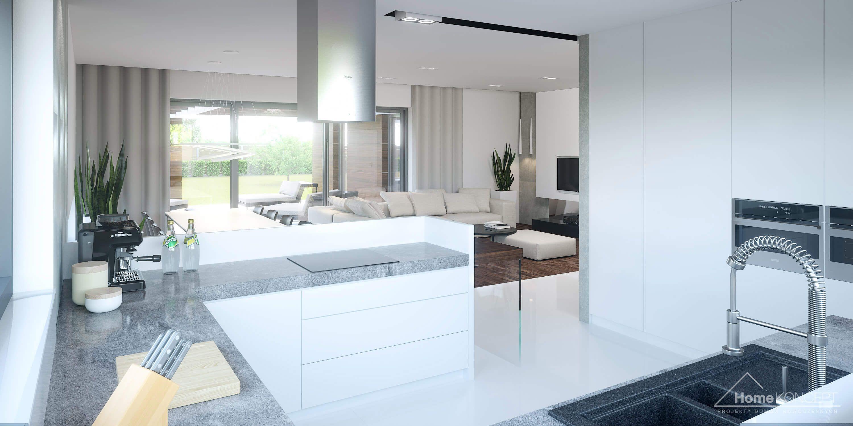 Aranzacja Wnetrza Domu Homekoncept 26 Homekoncept Modern Style House Plans Modern House Plan Concept Home