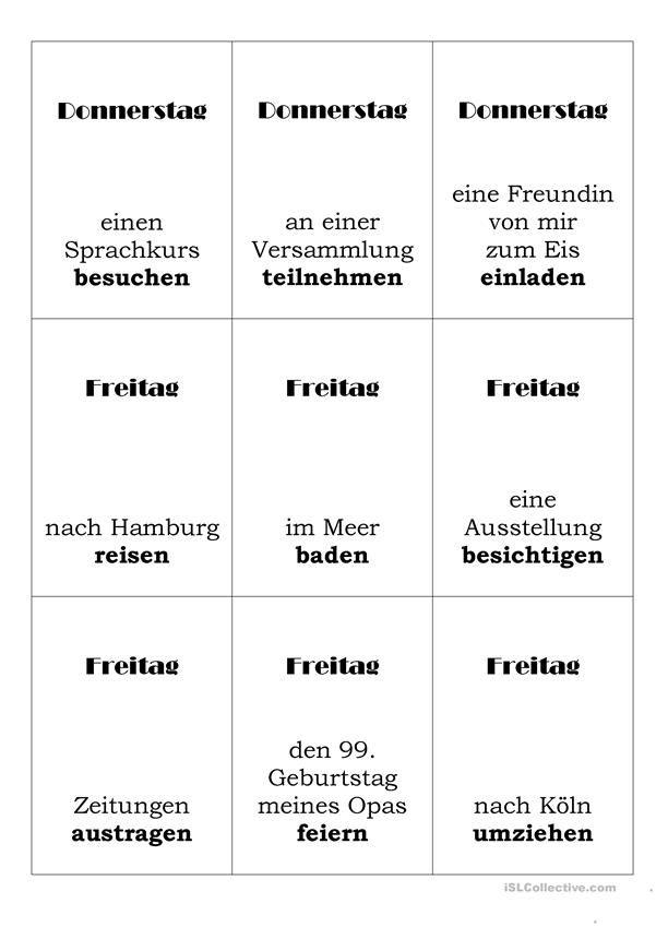 Spiele im Deutschunterricht: Mogeln – Der perfekte Lügner (Perfekt-Spiel)