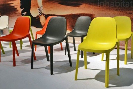 Philip Starck's Elegant Zero Waste Broom Chair is Crafted
