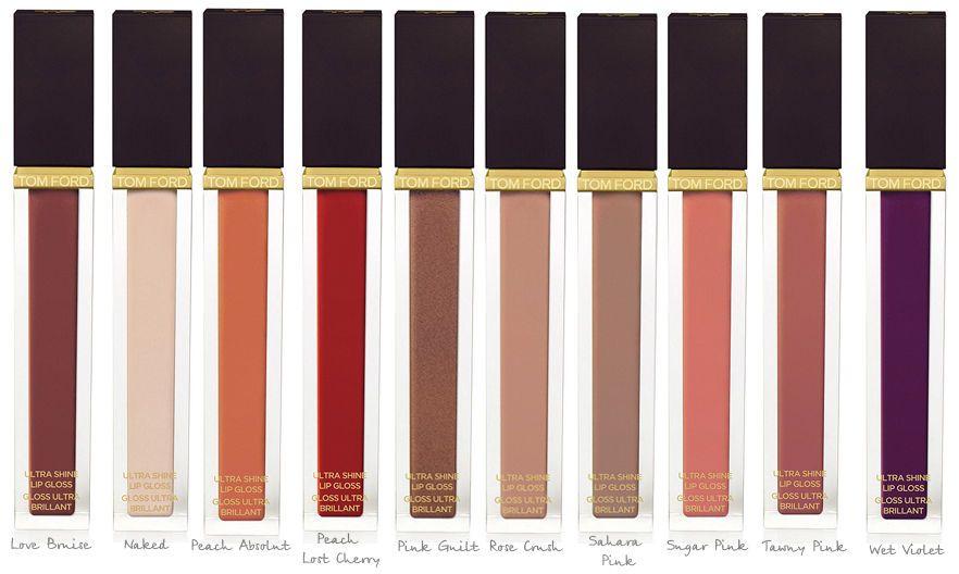 TOM FORD Ultra Shine Lip Gloss- gloss Ultra brillant- colori assortiti