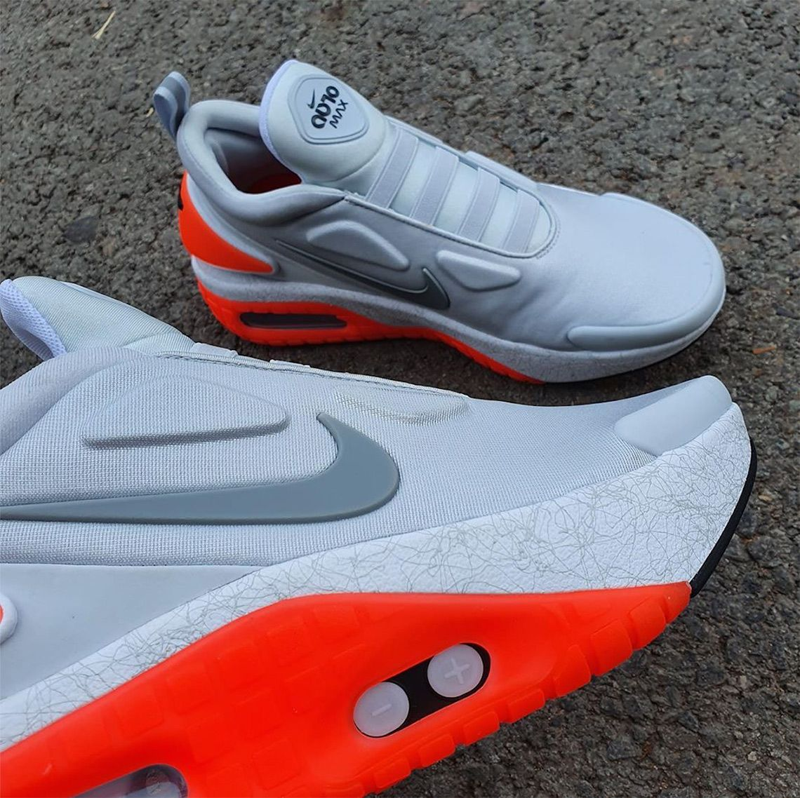 Nike Adapt Auto Max 01 Cz0232 002 Release Info Sneakernews Com In 2020 Nike Lacing Sneakers Sneakers Fashion