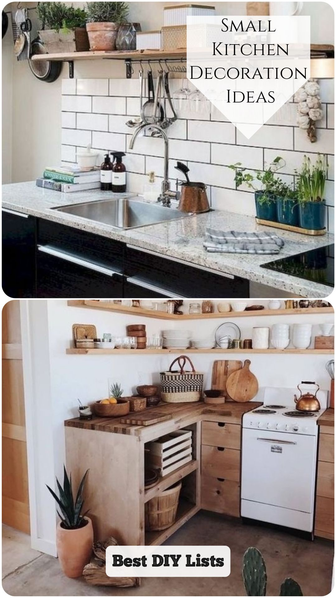 Small Kitchen Decoration Ideas in 9  Cheap kitchen decor
