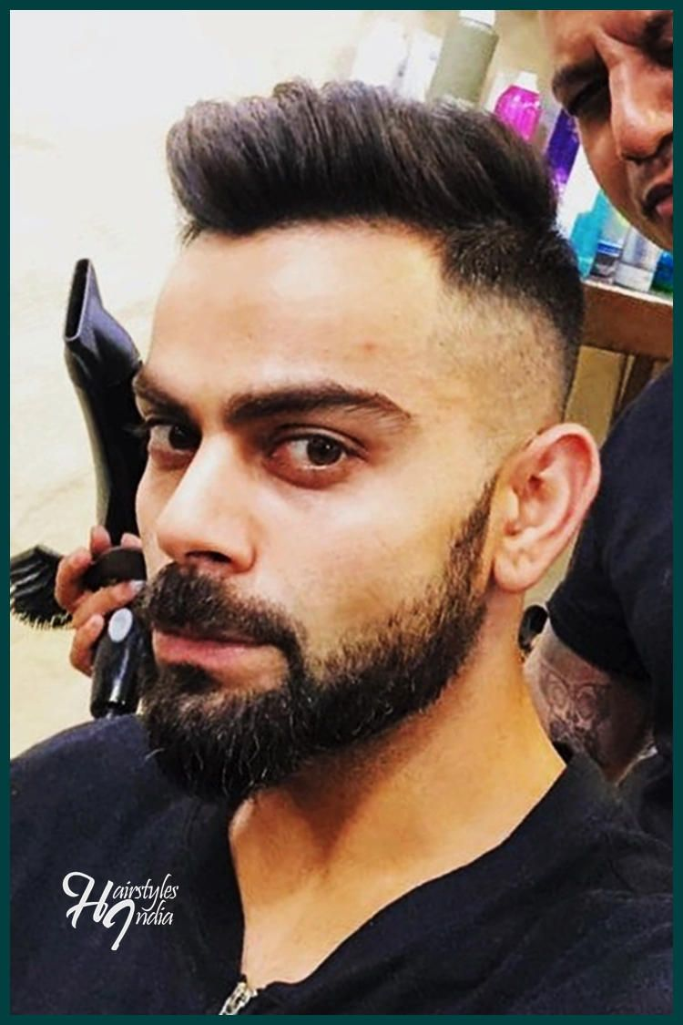 Have You Seen Virat Kohli S Ipl 2018 Hairstyle Virat Kohli Hairstyle Virat Kohli Hairstyle