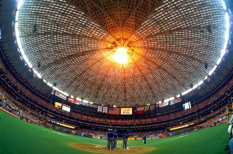 Memorable Moments In Astrodome History Minute Maid Park Baseball Stadium Astros