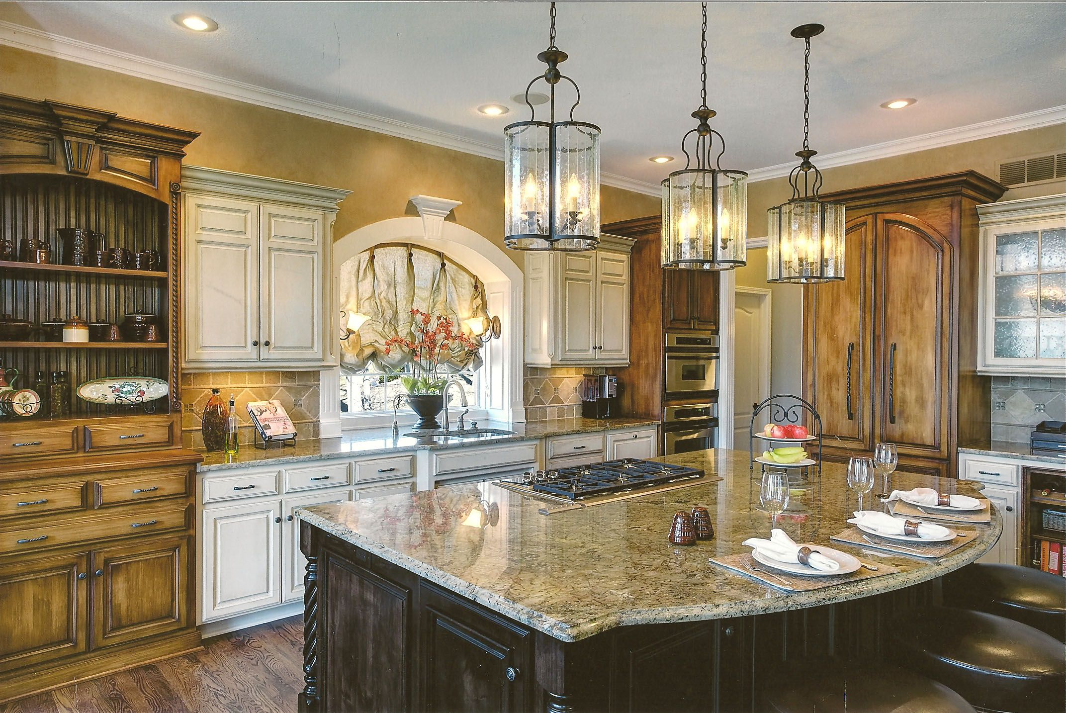 Here is a great example of how a strategic update can for Kitchen design kansas city