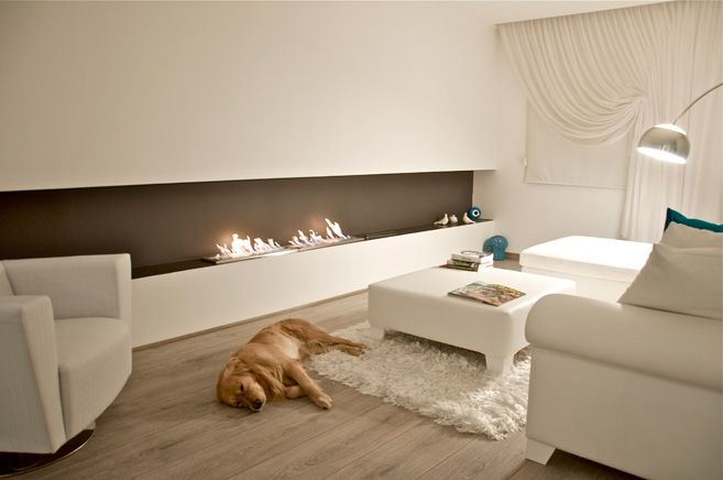 EcoSmart Bio-ethanol Fireplace - Fire Design Inspiration: Ethanol Fireplace Projects Fireplaces