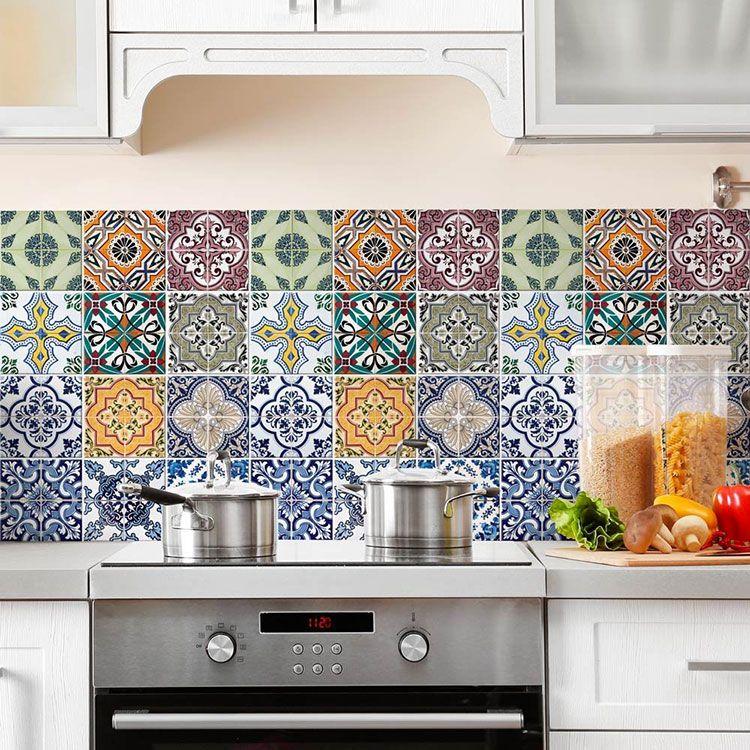 Piastrelle Adesive per Cucina: 30 Tipi di Rivestimenti in Vendita Online