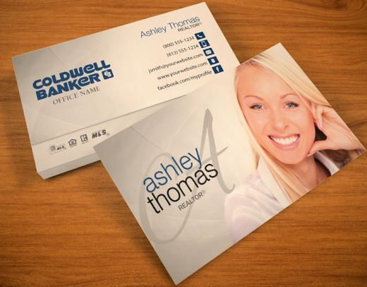 Coldwell Banker Business Cards Free Shipping And Design No Additional Fees Apply Realtor Business Cards Real Estate Business Cards Real Estate Business