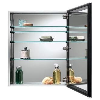 Broan Gallery Stainless Steel Bathroom Medicine Cabinet By Lamps