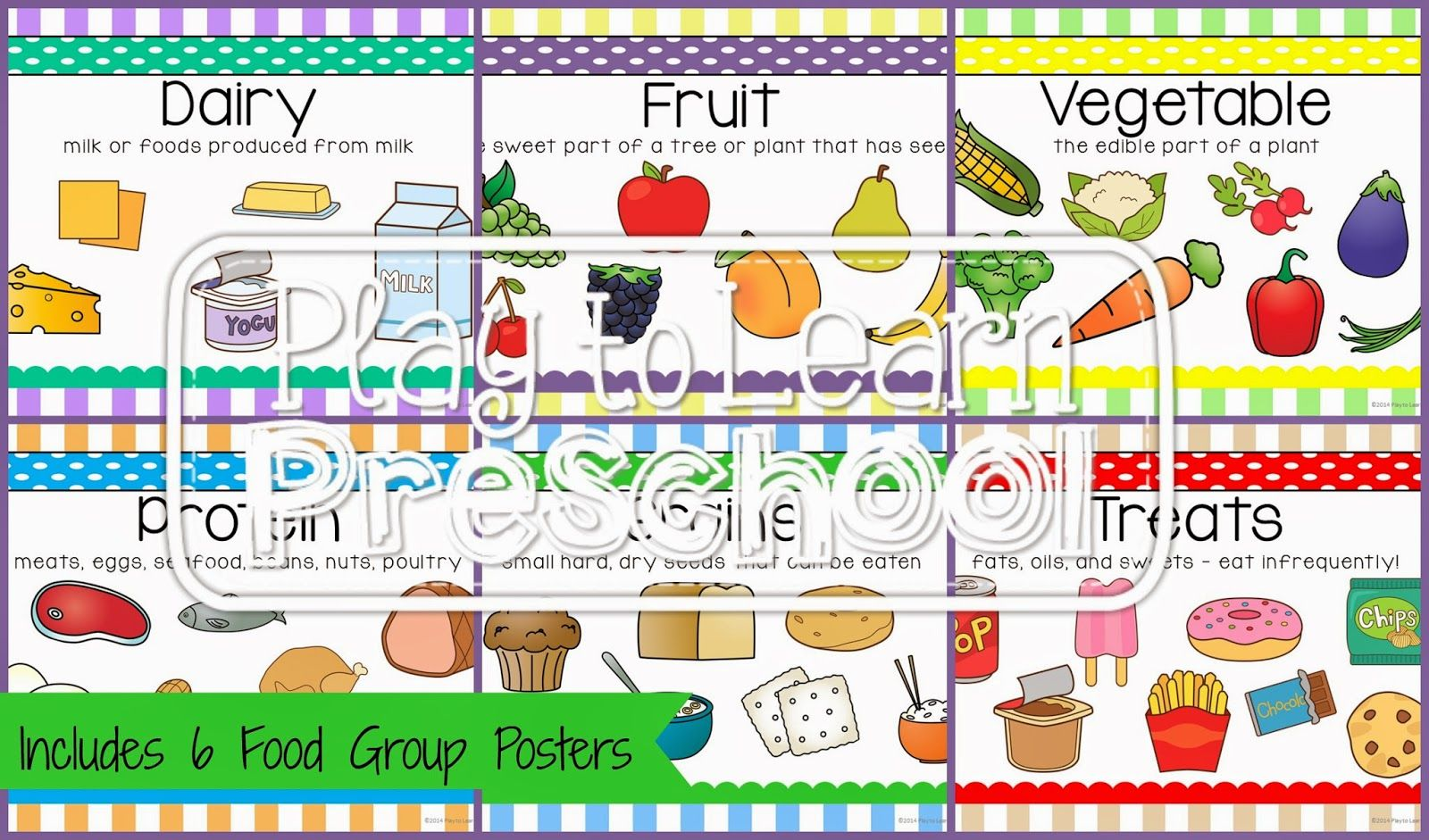 Food Group Posters Science Health Amp Nutrition