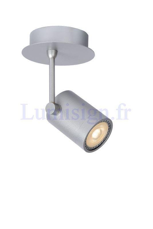 Spot led birx 1 spots à fixer spots en saillie luminaires intérieurs marque lucide