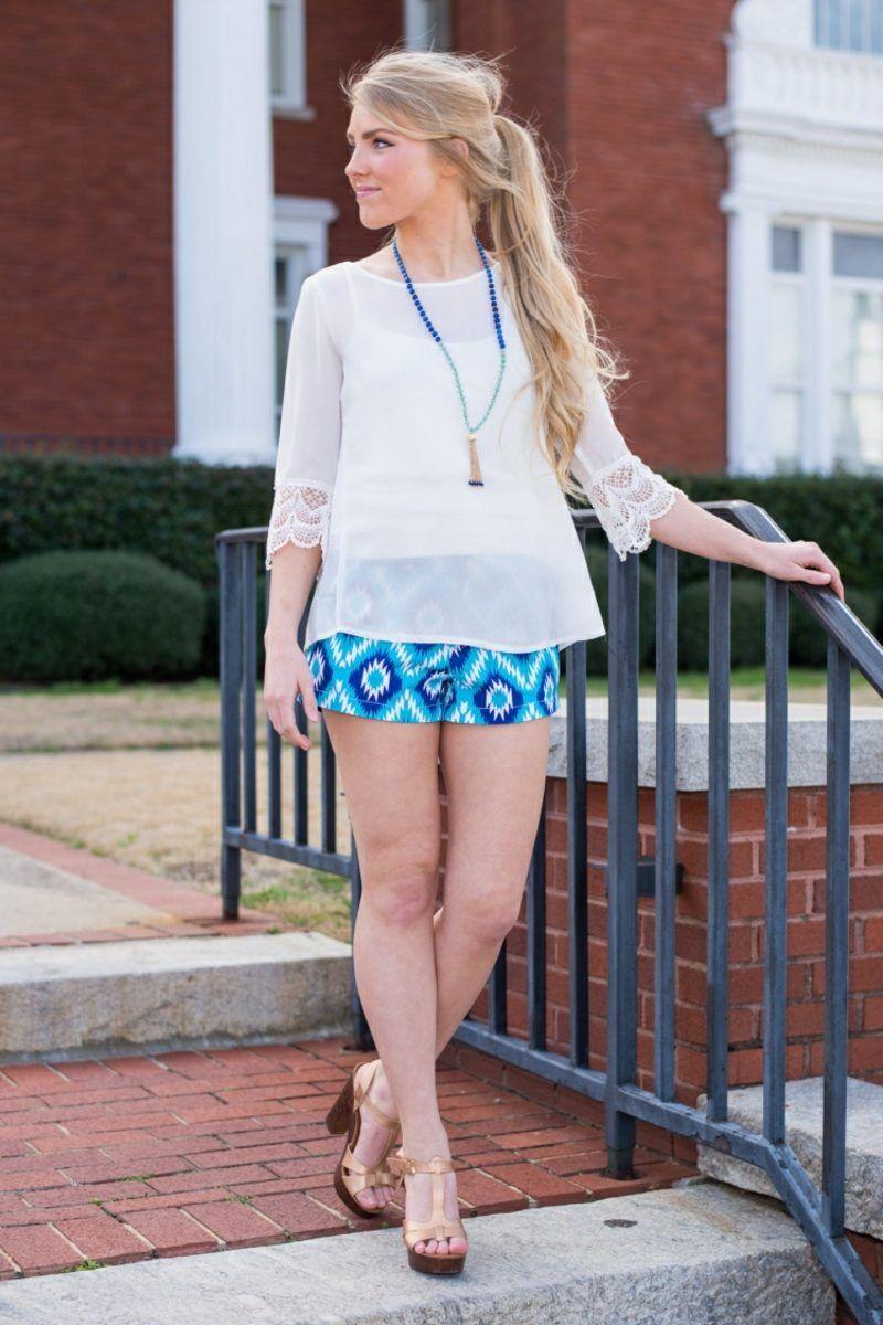 22 moderne Sommer-Outfits mit Hotpants für Damen | Fashion