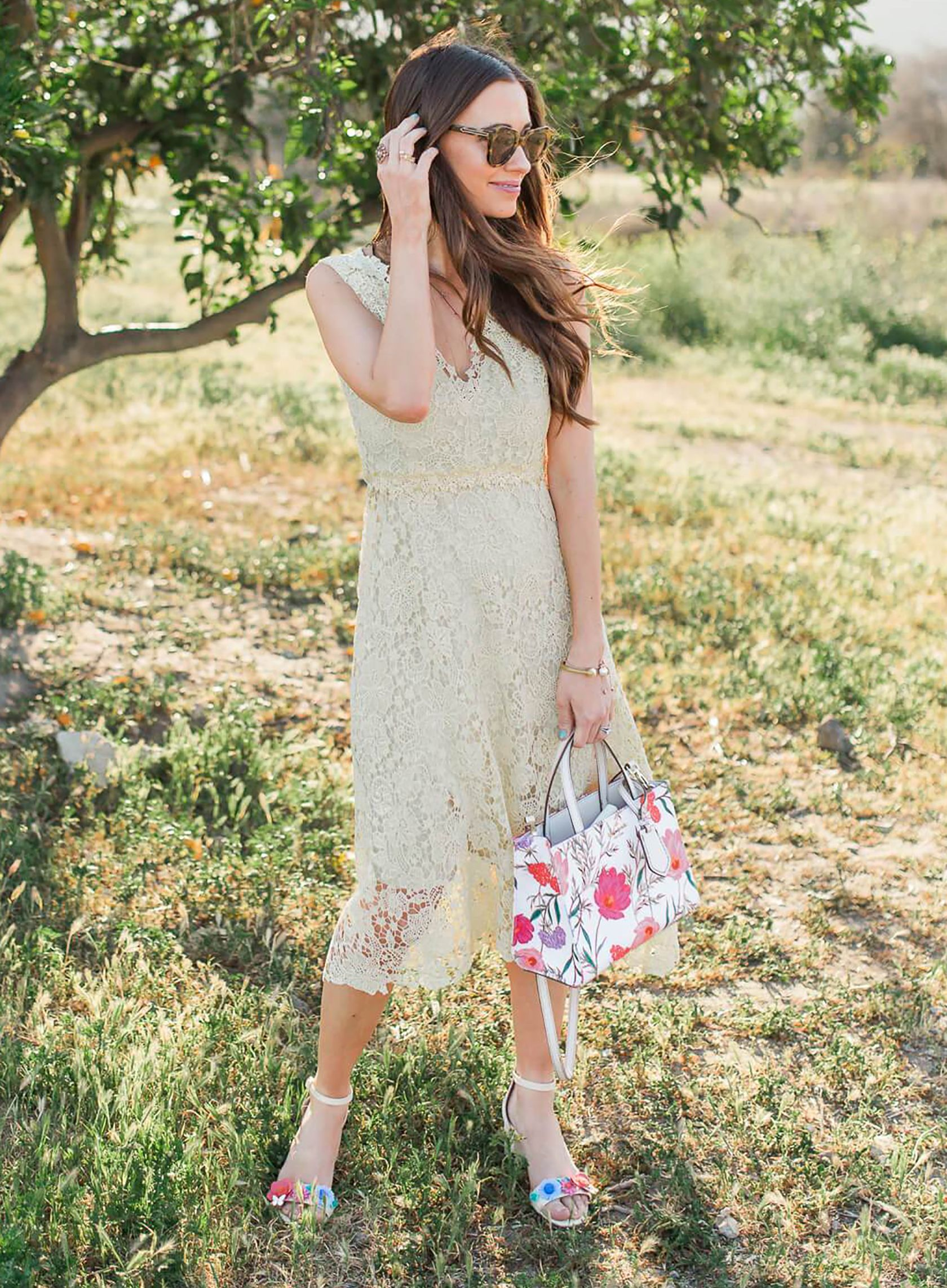 be6ebcf3ea16 Sydne Style shows what to wear to mothers day brunch with outfit ideas from  fashion blogger m loves m  outfits  springoutfits  dresses  lace