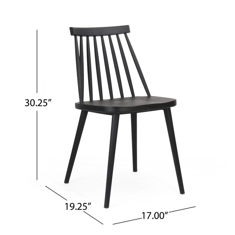 Osblek Farmhouse Spindle Back Dining Chair With Images Dining