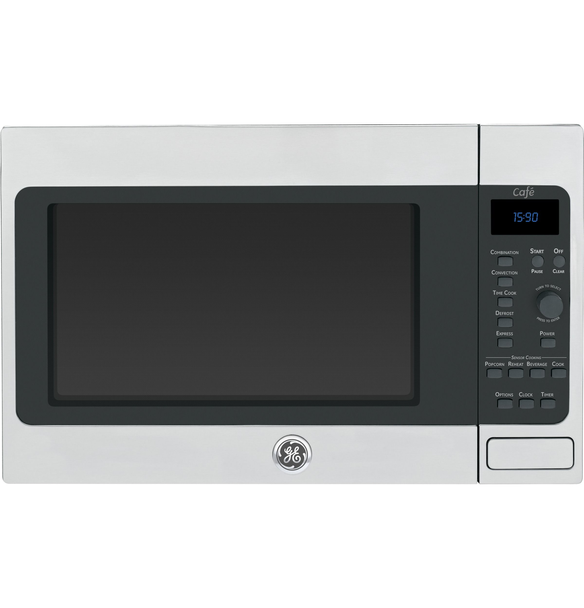 Ceb1590ssss Ge Cafe Series 1 5 Cu Ft Countertop Convection Microwave Oven
