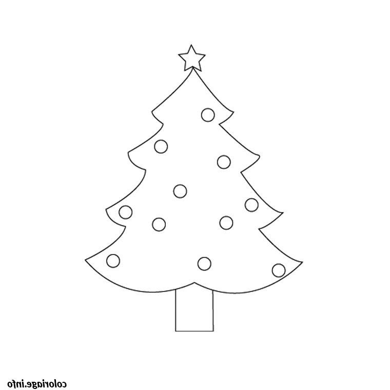 Sapin De Noel Simple Coloriage 1768 In 2020 Sapin De Noel Noel