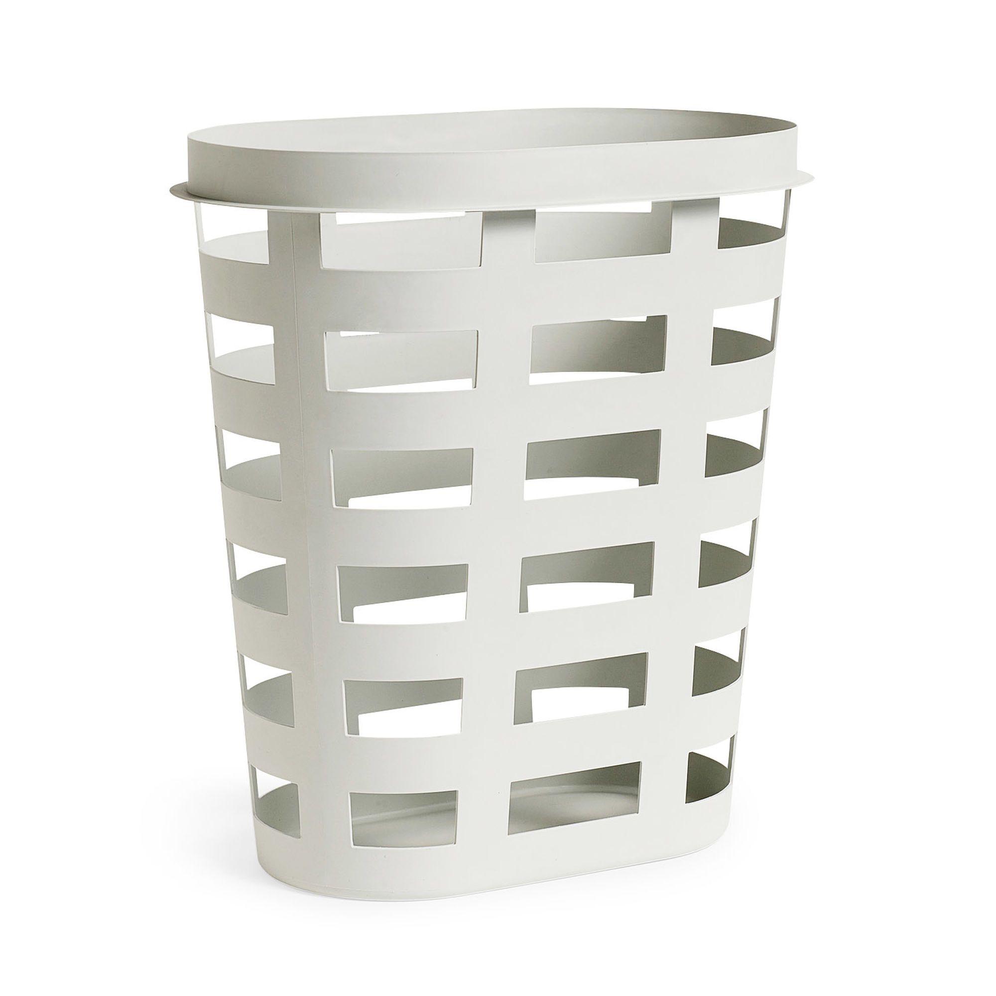 Hay Laundry Basket In Color Grey Laundry Basket Basket Lighting