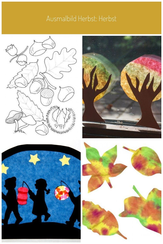 Ausmalbild Herbst Herbst Basteln Im Herbst Mit Kindern Beschaftigungsideen Im Herbst Fensterbilder Herbst Herbs Ausmalbilder Herbst Basteln Herbst Ausmalen