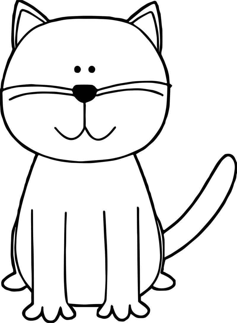 No Cat Coloring Page 2020 Hayvan Boyama Sayfalari Boyama