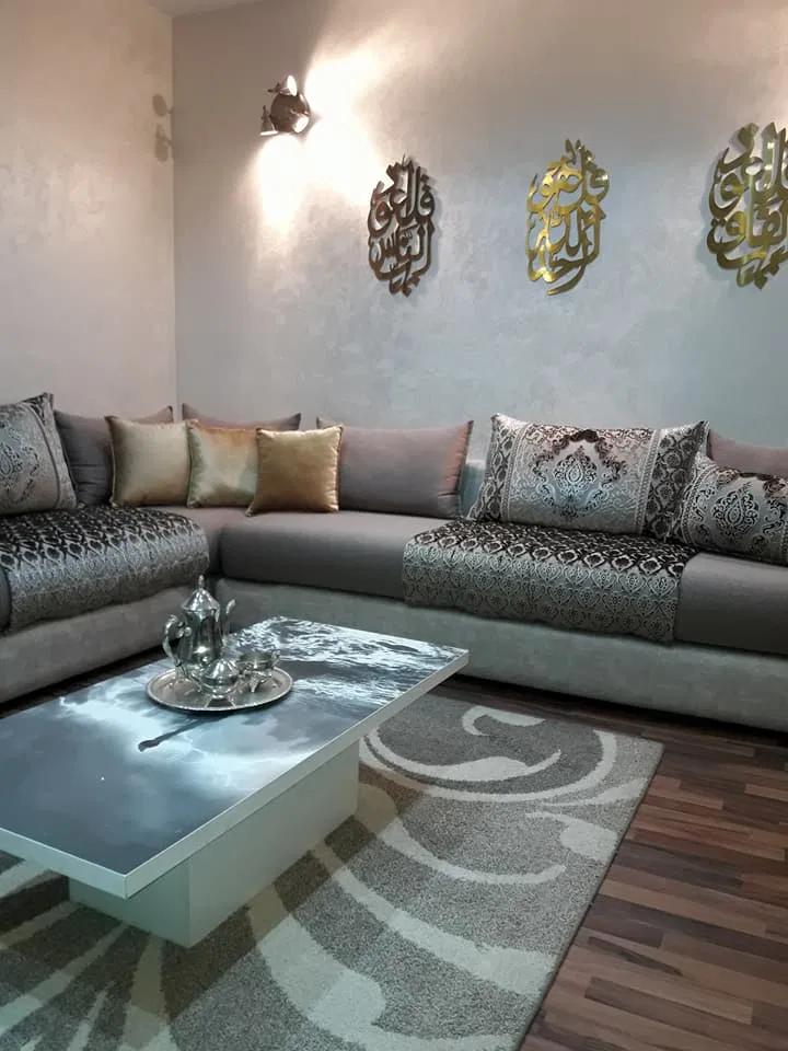 tapisserie moderne salon tapisserie salons marocains canap fauteuil banquettes en
