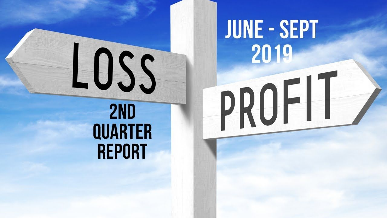 Stock Analysis Quarterly Profit Loss Report 8th Nov 2019 Stock Analysis Analysis Stock Market