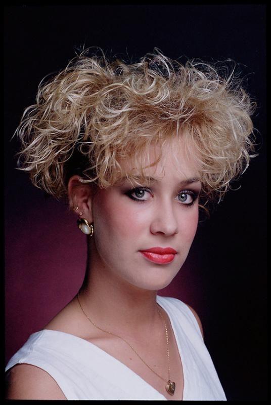 Baptista Coral Curly Hair Styles 1980s Hair 80s Hair