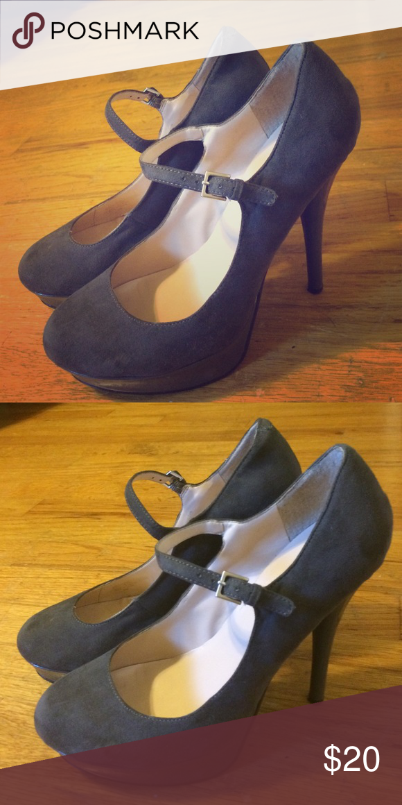 1fb1cef84 Spotted while shopping on Poshmark  Grey Guess heels!  poshmark  fashion   shopping  style  GUESS  Shoes