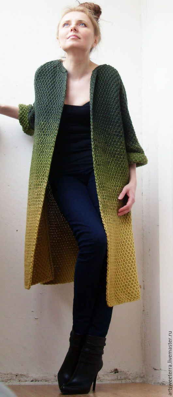 Кофты и свитера ручной работы. Вязаный кардиган женский 2. Art ...