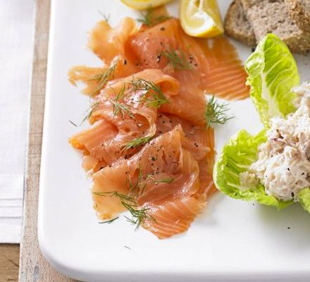 Try a Scandinavian approach to your smoked fish by adding dill, horseradish, lemon and red onion - great as part of a sharing platter