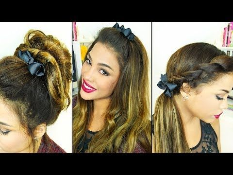 ▶ 5 Cute Fall Hairstyles! - YouTube..Andreaschoice!!!