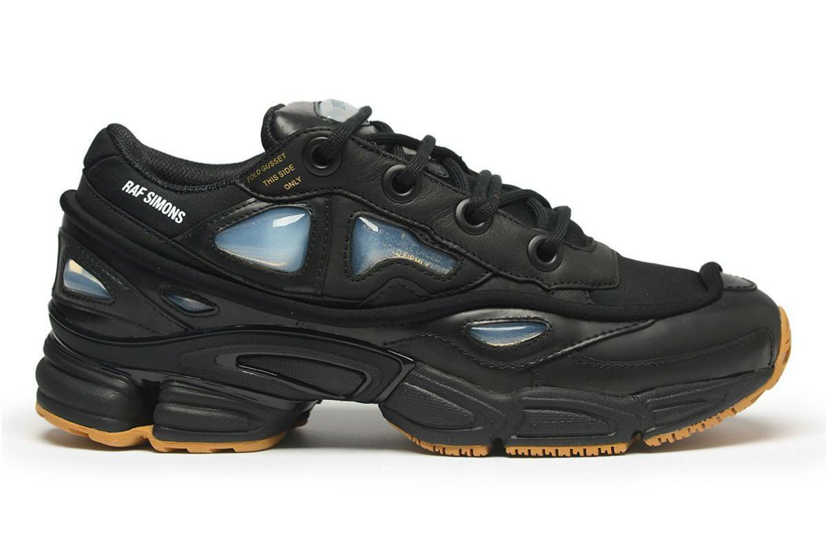 bf5dc57db adidas x Raf Simons Ozweego Black (Available to Buy Now | Kicks ...