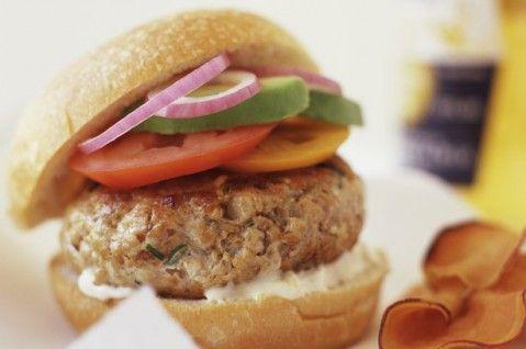 Low-fat chicken burgers recipe - goodtoknow