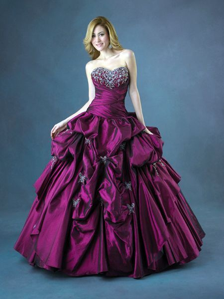 5649dbeea Discount Burgundy Sweetheart Embroider Beads Working Ball Gown Taffeta Prom  Dress (PD-104)