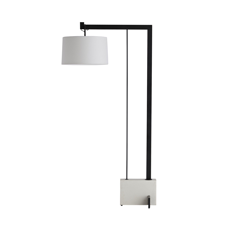 Piloti Floor Lamp Arteriors Home Floor Lamp Linen Shades
