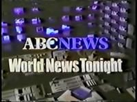 World News Tonight 1980s