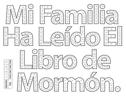 Lectura Libro de Mormon | primaria | Pinterest | Libros, Mormones ...