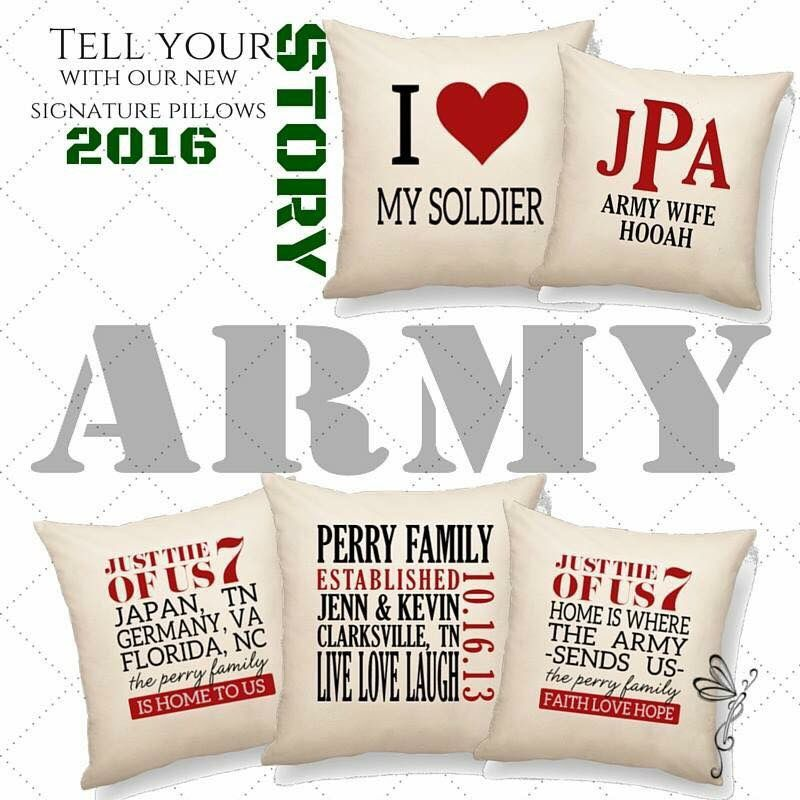 Army pillows! | I Love Thirty-One! | Pinterest | Products