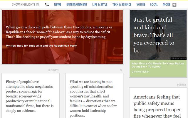 """Huffington Post lança """"Lab"""" para experiências de mídia"""