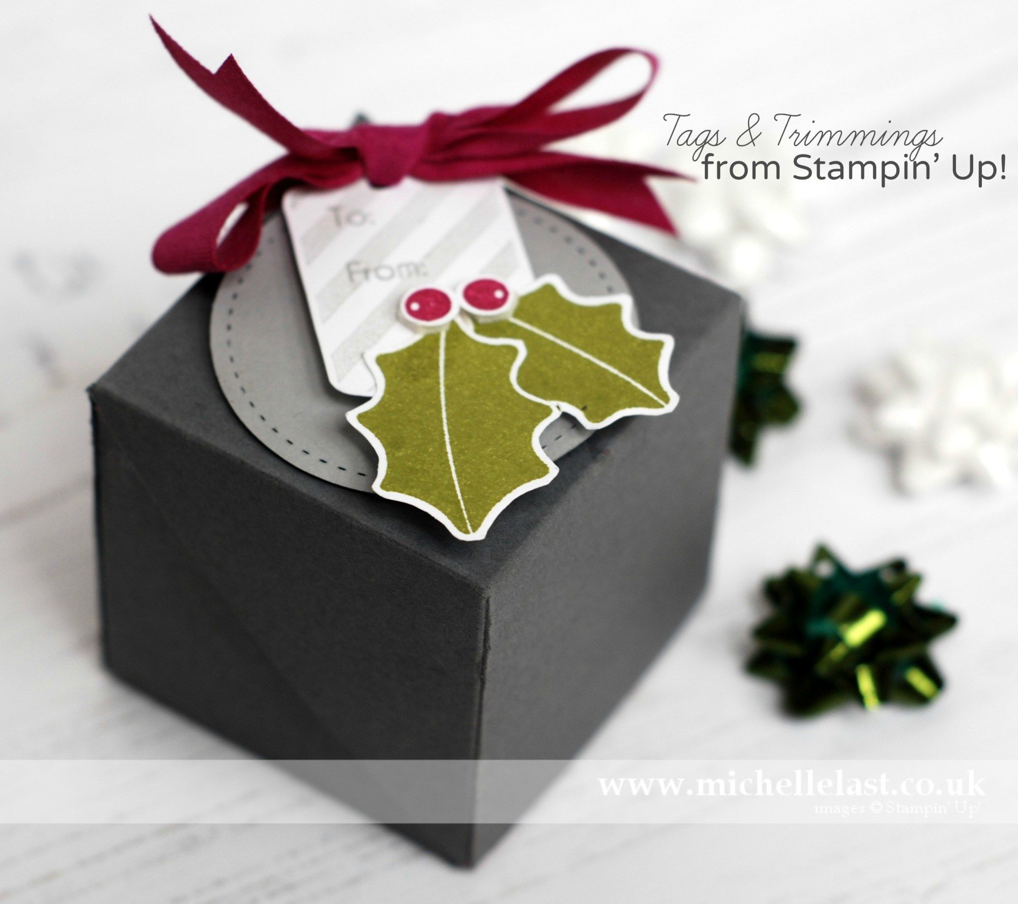 Diagonal Opening Gift Box With Michelle Last Box Cards And