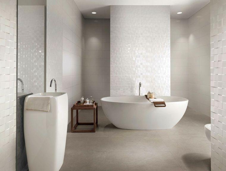 Idée carrelage salle de bain d\'inspiration design | Salles de bain ...