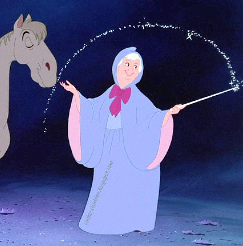 Disney S Cinderella S Fairy Godmother Doll And The Cinderella