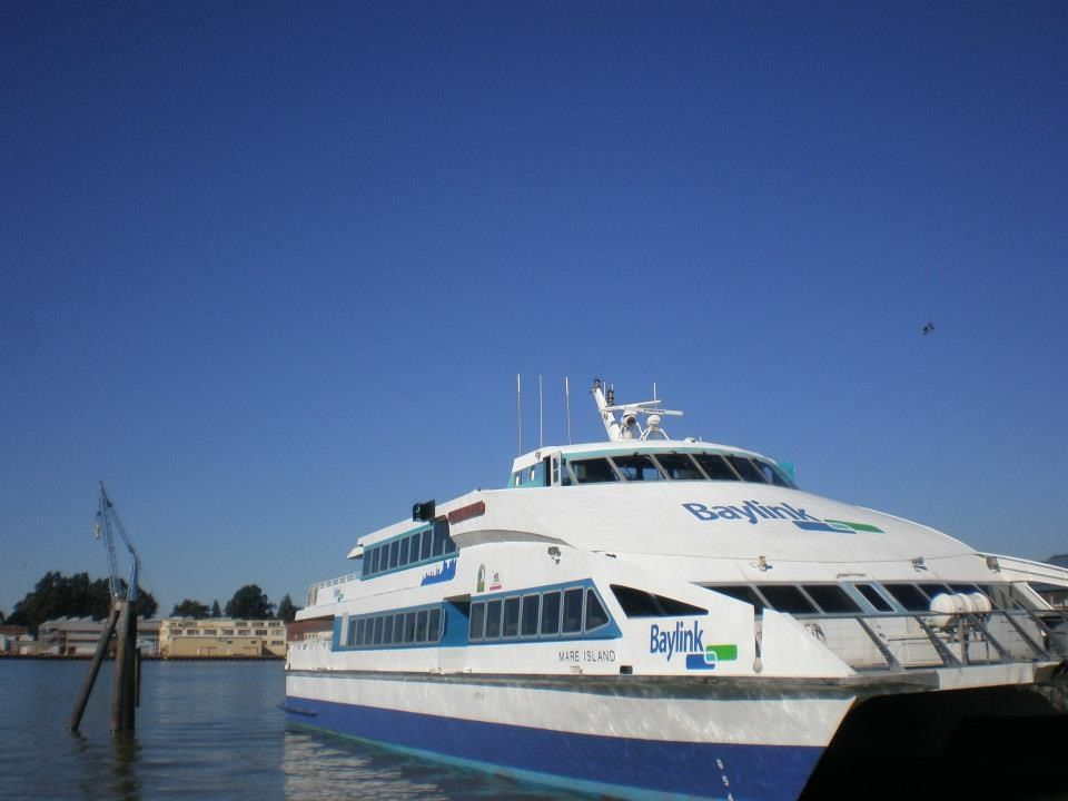 Ferry Boat That Runs From Vallejo California To San