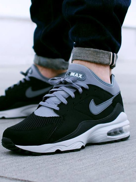 Max 93 Blackgrey Nike Nike Shoesdress Air Max YEqfw4Z