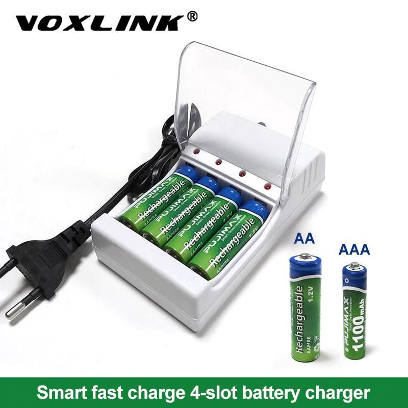 5 4 Independent Slots Battery Charger Rechargeable Battery Charger Battery Charger Charger